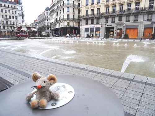 Flâneries dans Lyon.