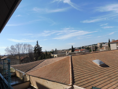 Continuons la visite d'Aix, en allant chez moi...