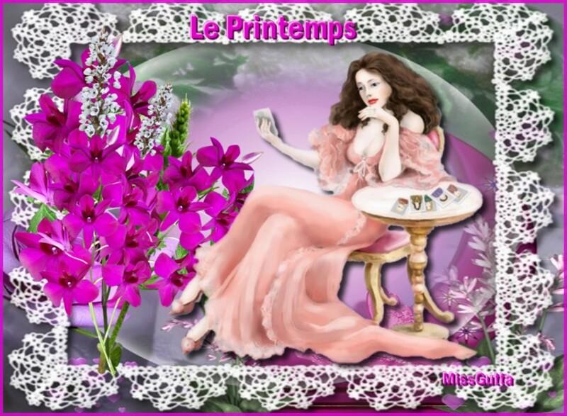 Défi pour Manik La couleur Café .& Lilimaya le printemps ,