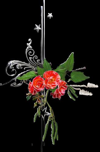 Ornements Floraux Série 16