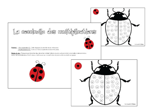 La coccinelle des multiplications