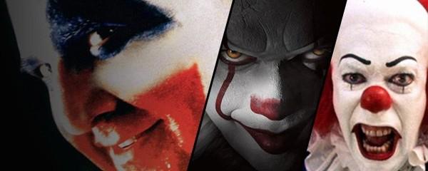 Ça et 25 clowns qui font (très) peur à l'écran !