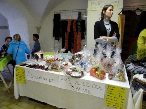 Le marché de Noël 2012 du Zonta-Club de Châtillon sur Seine