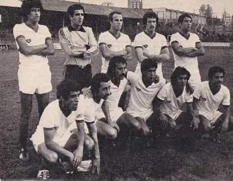 BENCHEIKH Ali 1977 contre le PSG 1-1