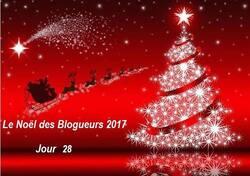 Le Noël des blogueurs 2017 - Jour 28