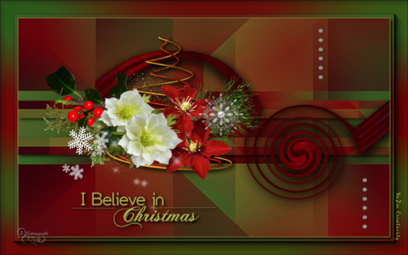 *** I Believe in Christmas ***