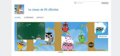 La classe de PS d'Emilie