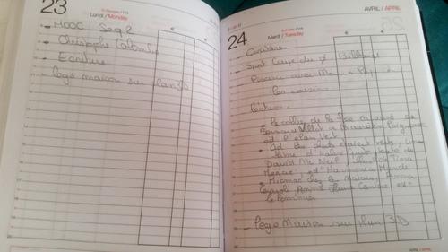 Notre rapport pédagogique et notre journal de bord pour préparer le contrôle académique