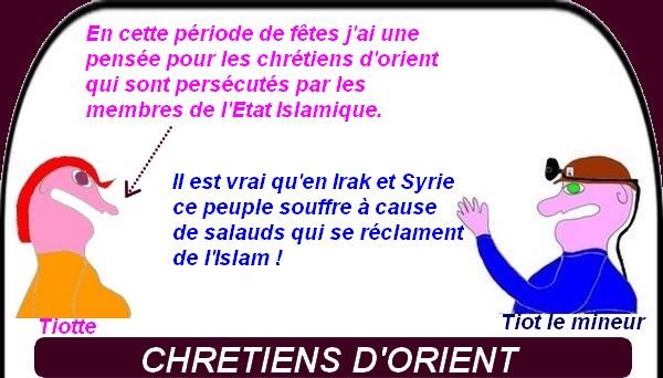 les chrétiens d'Orient, l'Islam et la sécurité,