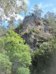 Les falaises du vallon de Plérimond