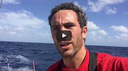 Vendée Globe : Dimanche 13 novembre : Avarie sur le bateau de Tanguy de Lamotte
