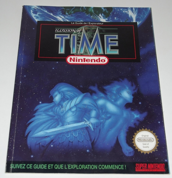 Guide illusion of time