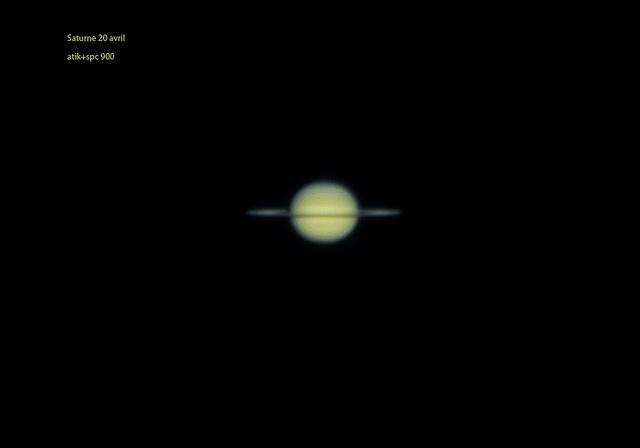 Saturne , ancienne configuration