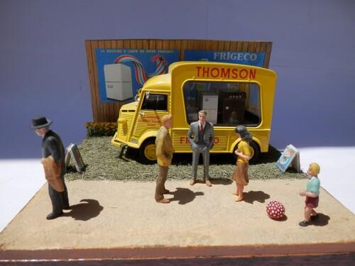 "Diorama ""foire expo"""