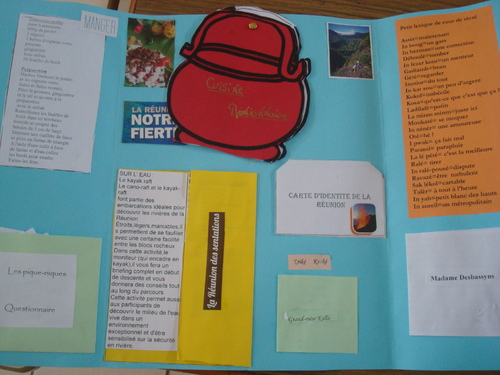 Lapbook sur La Réunion
