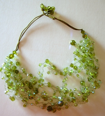 Crochetage de perles