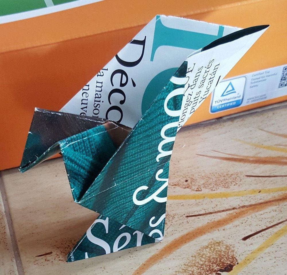 Origami for life - Des colombes en origami pour aider le Samu social...