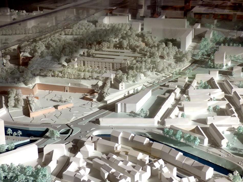 La Citadelle et son vaste chantier.