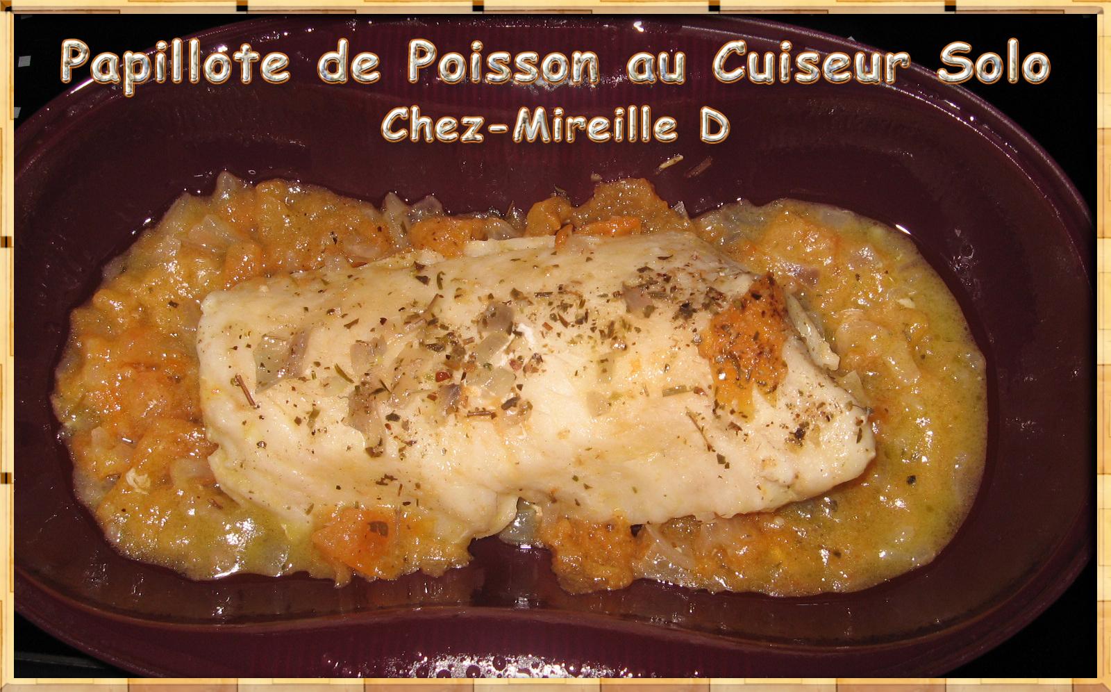 Exceptionnel Papillote de Cabillaud au Cuiseur Solo Tupperware - Chez-Mireille D HT91