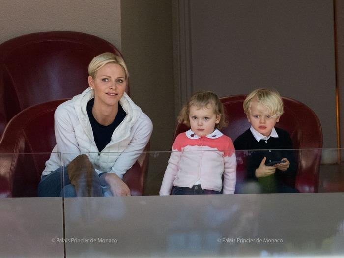 Charlène, Jacques et Gabriella le 2 décembre