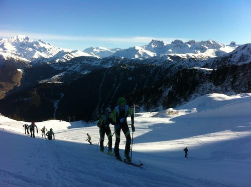 Le groupe 14/16ans à enfin remis les skis