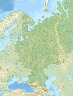 Voir la carte topographique deRussie européenne