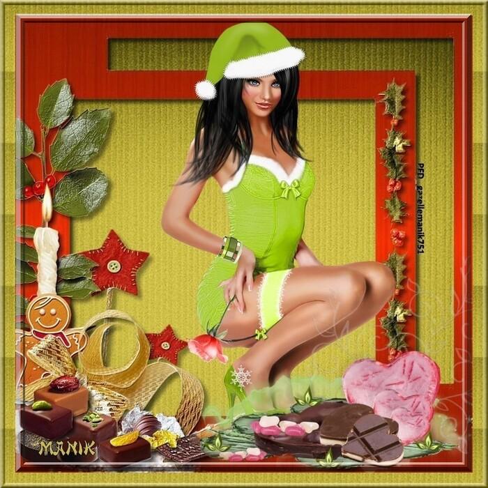 Dernière ligne vers Noël :