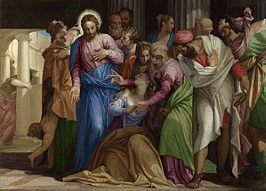 veronese-christ-addressing-kneeling-woman-NG931-fm