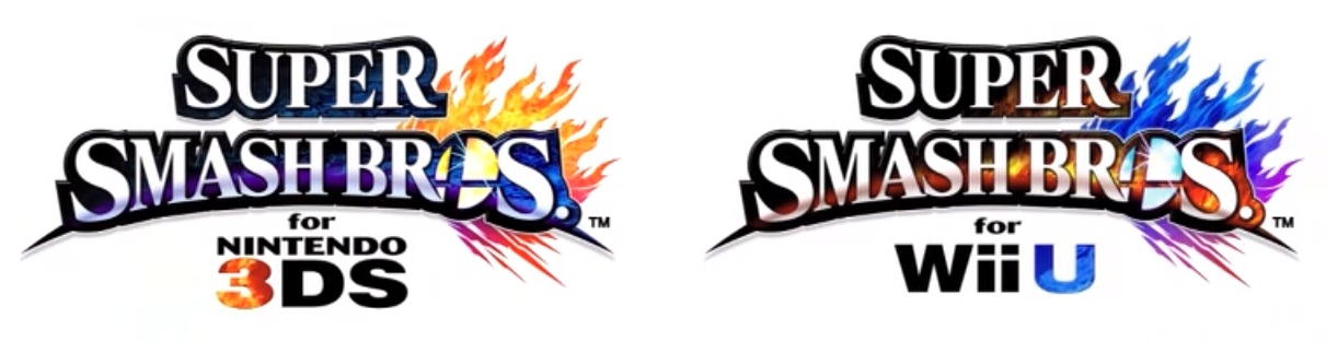 Logos SSB Wii U 3DS