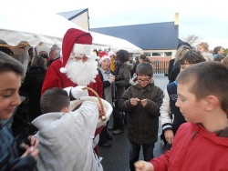La chorale et le marché de Noël
