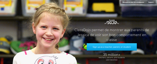 Class Dojo: gestion du comportement