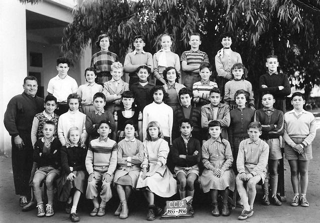 Classe de 6ème 1955-1956
