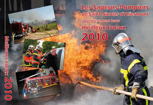Créations de Calendriers Sapeurs-Pompiers 2010