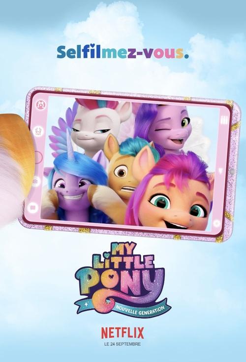 Découvrez l'affiche de My Little Pony Nouvelle Génération