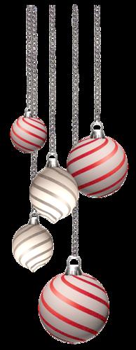 Boules de Noël Série 8