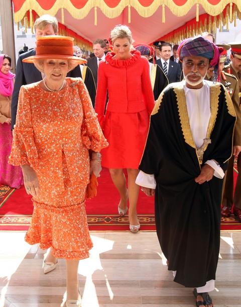 Arrivée à Oman