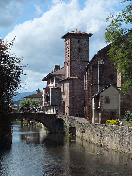 Saint Jean Pied de Port : église Notre-Dame de l'Assomption