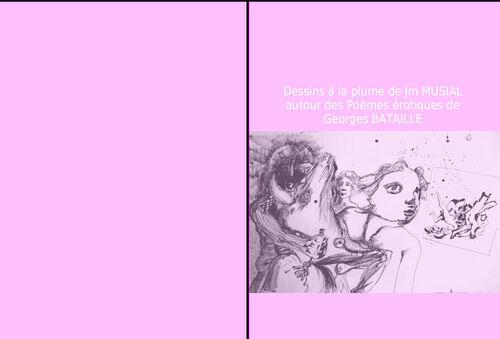 Poèmes érotiques de Georges Bataille