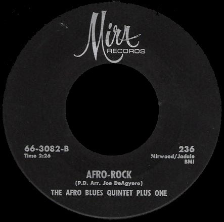 Afro Blues Quintet Plus One (The) - Afro Rock