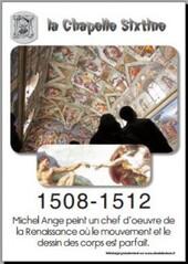 1508 - 1512 Chapelle Sixtine de Michel Ange