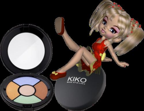 Palette de 5 nuances d'anti-cernes kiko