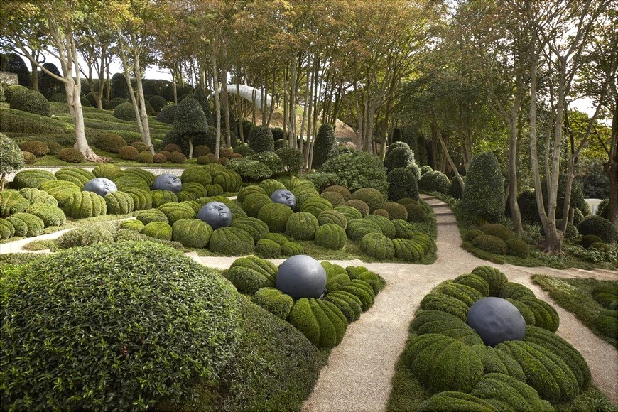 Etretat ( suite ) les jardins