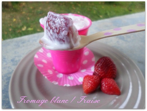 Fromage blanc/ Fraise