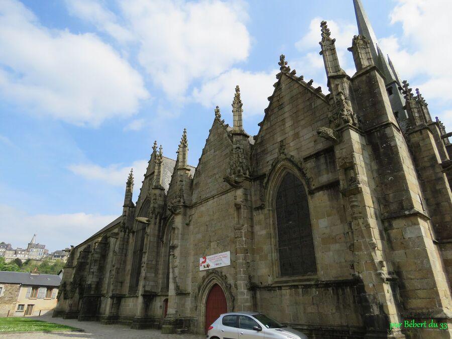 l'église St Sulpice à Fougères -5