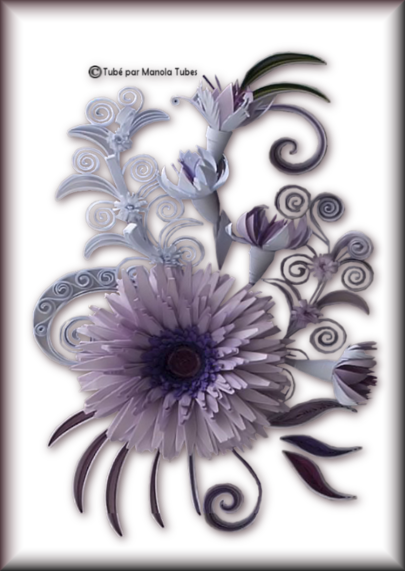 Tubes Quilling Arts floral 2983