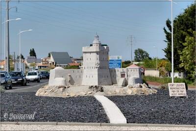 Rond-point Bourcefranc Le Chapus Fort Louvois Charente-Maritime Poitou-Charentes