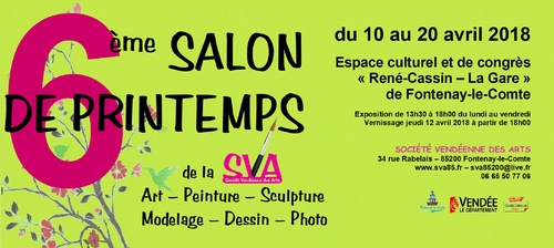 6ème Salon de printemps de la SVA - Inscriptions