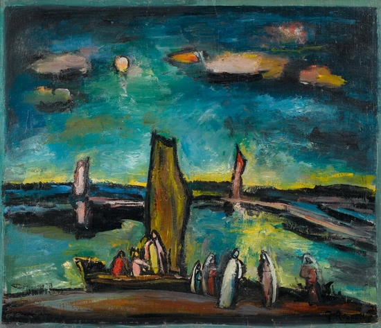 Georges  Rouault,  Le Christ et les pêcheurs