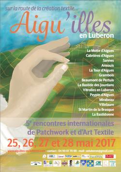 Aigu'illes en Lubéron; sur la route de la création textile