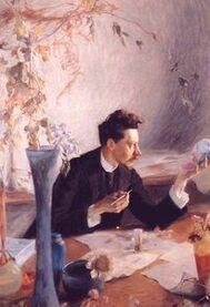 Portrait-d-Emile-Galle Victor Prouvé 1893